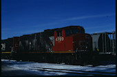 CN GP38-2W 4799 (02.2010, Brockville, ON)