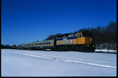 VIA F40PH-2 6418 (02.2010, Brockville, ON)