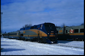VIA P42DC  901 (01.2010, Smiths Falls, ON)