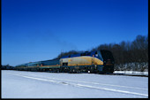 VIA P42DC  919 (01.2010, Brockville, ON)