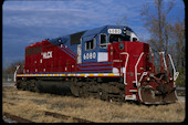 HLCX SD40M-3 6080 (03.12.2010, Paducah, KY)